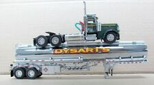 DCP DYSART'S 389 PETERBILT DAY CAB WITH PETROLEUM  TANKER 1/64 NEW
