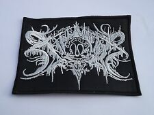 XASTHUR EMBROIDERED LOGO BLACK METAL PATCH