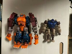 Transformers Beast Wars OPTIMUS PRIMAL & OPTIMAL OPTIMUS Figure Set of 2