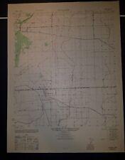 1940's Army topo map Hankamer Texas Sheet 7043 I SE Monroe City Oil Fields