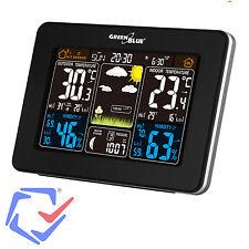 GreenBlue GB523 Station météorologique sans fil avec écran LCD capteur extérieur