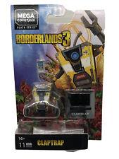 Mega Construx Heroes Borderlands 3 Claptrap Black Series BLOKS NEW  Figure