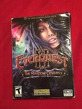 EverQuest II The Shadow Odyssey Compilation Pack PC Video Computer Game 2008