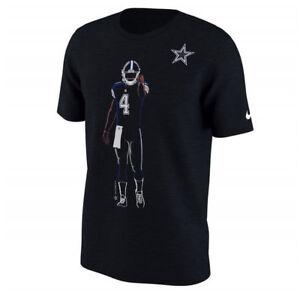 Dak Prescott Dallas Cowboys Nike Silhouette Shirt Yth Large 14-16 nwt Free Ship