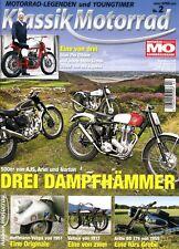 KM1402 + 500er von AJS ARIEL NORTON + MO Klassik Motorrad 2/2014