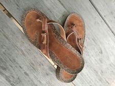 TEVA Sandalen Slide Sandaletten Größe 38 Leder Neu
