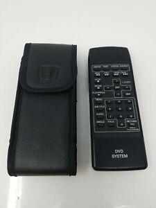 03-09 odyssey pilot mdx Honda Rear Entertainment DVD System Remote Control