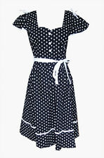 50s Style Dress 12  Polka Dot Dress 12  Pin Up Dress 12  Rockabilly Dress 12 NEW