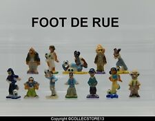 BDO101 SERIE COMPLETE DE FEVES   FOOT DE RUE