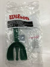 Lot Of 25 Wilson Single Density With strap Adult Mouth Guards Green wholesale