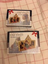 Lego Vermeer Girl with pearl earring and Milkmaid including 14 Delft Blue tiles