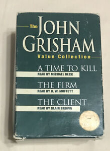 The John Grisham Value Collection: A Time to Kill/The Firm/The Client Cassettes