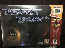 Perfect Dark ** Nintendo 64, N64, 2000 ** BRAND NEW SEALED **U.S SELLER