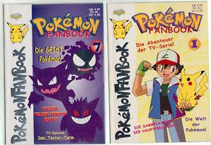 Pokémon Fanbook 1-23 fast komplett TOP (0-1/1) ohne Sammelkarten Diamond