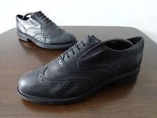 Para mujeres Zapatos Formales Talla 6.5 Negro Cuero Russell & Bromley con Cordones 39.5 euros