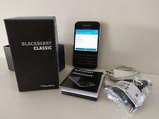 Occasion BLACKBERRY CLASSIC AZERTY + Chargeur smartphone portable bloqué Orange