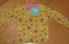 Infant Baby Girl 0-3M LIFE IS GOOD Love Bug Ladybug Long Sleeve Shirt NWT