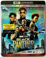 Black Panther Marvel Cinematic 4K UHD Ultra HD Blu-ray / Bluray [with Slipcase]
