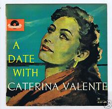 "25 CM 10 ""LP A DATE WITH CATERINA VALENTE (AUSTRALIA)"