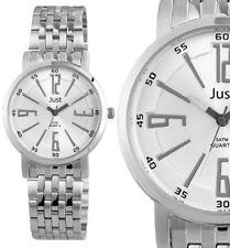 elegante Herren Armbanduhr Silber Silverstar Edelstahl JU10064 JUST 49,95€ UVP