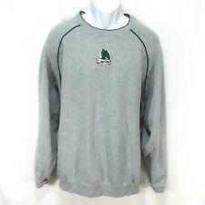 Mens  Size 3XL Antigua Dayton Dragons Sweatshirt Cotton Blend Gray Blue Trim N1
