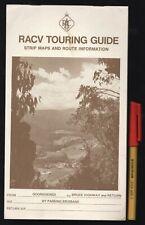 Vintage RACV TOURING GUIDE Route Maps & Guide Queensland GOONDIWINDI Rockhampton