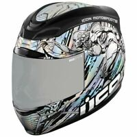 *FREE SHIPPING* ICON AIRMADA MECHANICAL  FULL FACE MOTORCYCLE HELMET