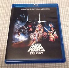 Star Wars Despecialized Trilogy + Extras BluRay 3-disc set