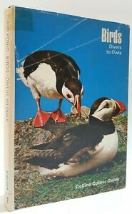 Birds Divers to Owls Claus Konig bird watching ornithology field guide book 1973