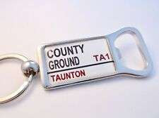 Somerset County Street Road Sign Bottle Opener Keyring Gift