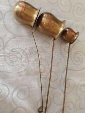 Vintage Brass Spirit measures