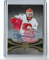 Brian Elliot Calgary Flames 2016-17 Ultimate Collection Hockey Autograph 25/75