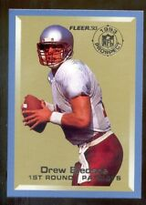 1993 Fleer DREW BLEDSOE New England Patriots NFL Prospects Rookie Insert Card