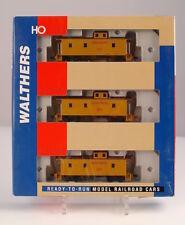 Walthers 932-37541 H0 Set 3 Caboose, Union Pacific US-Güterzugbegleitwagen