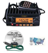 Yaesu FT-2980R 80W FM 2M Mobile Transceiver with RT Systems Programming Kit