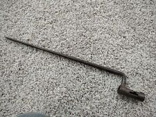 """Bayonet marked """"Us"""". Possibly off a model 1816 Springfield ?"""