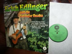 Erich Edlinger und die Schliefar Buaba, Austria VN Records, Volksmusik, LP, 80er