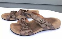 Taos Deuce Women's Foot-Bed Slide Comfort Sandals Size US 9-9.5 / EU 40