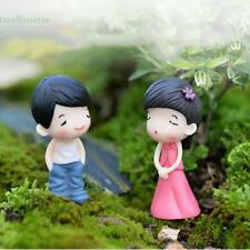 Fairy Garden Miniature Landscape Dollhouse DIY Figurine Bonsai Pretty Couple