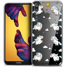 "Cover Crystal Gel For Huawei P20 LITE 5.84"" Flexible Fantasia Licorne In the Sk"