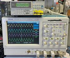 Tektronix Tds5104b Dpo Oscilloscope 4ch 1ghz 5gss 3m Sm J2 Usb Pw3 Ja3 Je3
