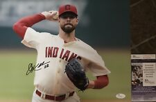 Corey Kluber Cleveland Indians Signed 11x14 2014 CY YOUNG JSA S76828