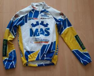 MAS RETRO VINTAGE MADE ITALY WARM WINTER BIKE CYCLING JACKET - L