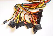 Brand NEW--Powork Yellow-X 12cm Fan 650w-MAX ATX PS 20+4Pin SATA PCIe-6pin