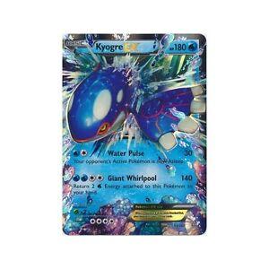 KYOGRE EX 54/160 PRIMAL CLASH SET POKEMON SUPER RARE CARD