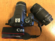 Canon EOS 600D double zoom kit (mit EF-S 18-55mm + EF-S 55-250mm) in OVP