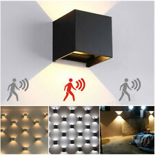Bedroom Living Room Square LED Wall Light Up Down Cube Wall Sconce Lamp Fixtures
