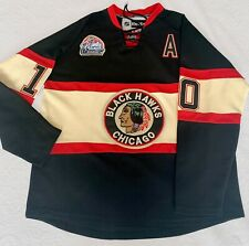 PATRICK SHARP 2009 Winter Classic - Chicago Blackhawk NHL Jersey, Size 52