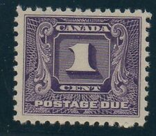 Canada Sc J6 1930 1 c dark violet postage due stamp mint NH Free Shipping