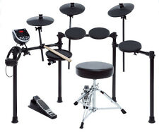 Electronic Drum Set Adult Kit Electric 100 Different Instruments Throne Sticks